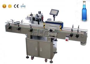 China Siemens PLC automatic labeling machine with bottle separator for water bottles on sale