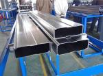 Galvanized Steel Box Beam Rack Roll Forming Machine 8-10m / Min With 15 Stations