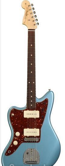 fender custom shop 1962 jazzmaster nos blue agave left handed gu