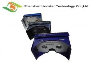 China WWGC Colorful Cardboard Virtual Reality Glasses, Cardboard 3D Goggles on sale