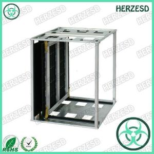 China HZ-2608 Metal ESD Magazine Rack 535*460*570 on sale