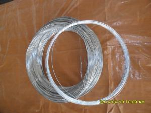 China 20# steel galvanized steel wire on sale