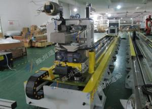 China High Safety Robot Rail System For Polishing And Grinding Axis Up To 70m on sale