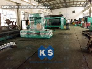 China 2.2mm Gabion Machine Galvanized Wire Gabion Mattress PLC Control System 3.5m / Min on sale