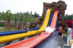Water Theme Park Equipment Construction Swimming Pool Fiberglass Water Slide For Adult
