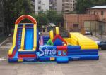 Great fun outdoor kid giant inflatable amusement park for commercial use