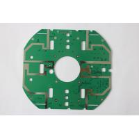 RoHS Double Copper Multilayer Custom PCB Boards With Green Solder Mask