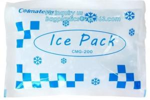 China cold chain co-use cool and fresh keeping gel ice pack, cool gel pack, Mini cold cool packs gel ice packs that stay cold on sale