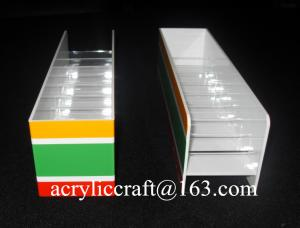 China Professional Production Countertop Acrylic Cigarette Display Stand on sale