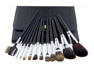 China Soft Goat Hair Cosmetic Pro Makeup Brushes Professional Makeup Brush Kits on sale