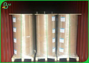 China 100gsm - 160gsm Glossy Coated Paper , Greaseproof One Side PE Coated Paper For Food Bag on sale