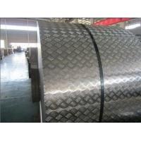 No Peeling Diamond Color Coated Aluminium Coil Metal Rolls Anti Slip