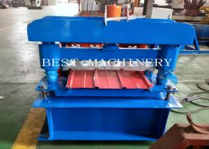 China Wall Cadding Trapezoid Metal Forming Panel Roof Making Machine on sale