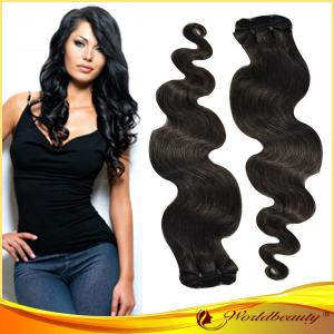 China Body Wave Virgin Human Hair Extensions on sale