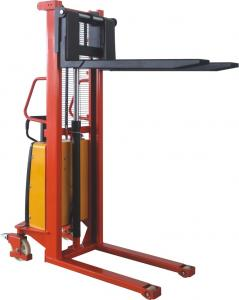 Best sale hand forklift manual pallet stacker,hydraulic stacker.