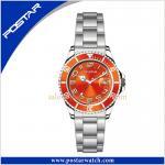 Reloj mecánico del acero inoxidable de las ventas calientes PSD-2306 con el dial colorido