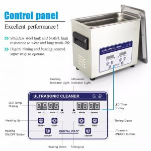 China Vinyl Records Jp -031s 6.5 L Ultrasonic Cleaning Machine 40khz With Sus304 Basket on sale