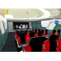 Electric System 12 / 18 Seats 7D Simulator Cinema With FRP + Steel Material