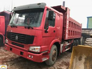 China 6x4 Second Hand Dumper Truck 2nd Hand Tippers Howo 336 With 10 New Tyres on sale