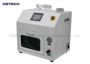China PLC Touch Screen Green Color Cover SMT Nozzle Cleaner For 01005 0201 Components on sale
