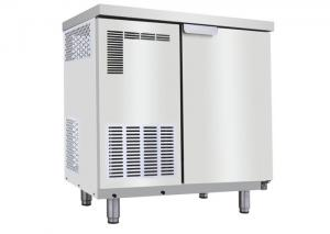China Bench Commercial Refrigeration Equipment , 30Kg / 50Kg Square Ice Maker Machine on sale
