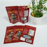Grip Sealed Herbal Incense Packaging Aluminum Foil Ziplock Bags For Rhino Capsule Powder