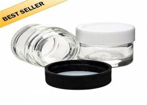 China Non - Toxic Seal Glass Concentrate Containers , FDA Free Glass Concentrate Jars on sale