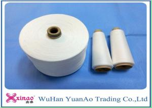 China Sewing Thread 100% Polyester TFO Yarn 40/2 40/3 Raw White or Customized on sale