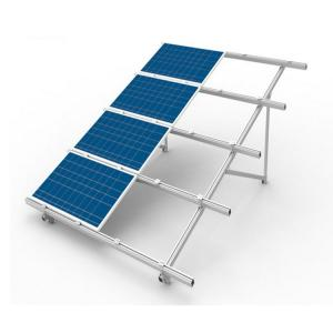 China Grid Tie Solar Panel Roof Mounting Systems Tilt - Up Penetrated Industrial Natural Color on sale