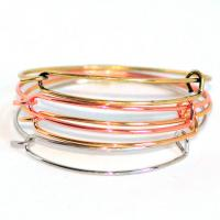 alloy latest design charm bangles ,adjustable expandable bangle ,adjustable wire bangle bracelet wholesale