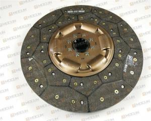 China Brown Excavator Engine Parts Truck Clutch Disc Replacement Assy MAZ Model 236HE 182 - 1601130 on sale