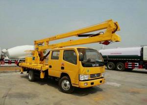 China Dongfeng 16m Aerial Platform Truck , Vehicle Mounted Work Platforms CCC Approved on sale