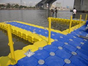 Quality Pontón grande del HDPE de la venta para el muelle del lago for sale