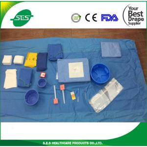 China Disposable Sterile High-Protective Surgical Femoral Angiography Drape Pack, Angio Pack on sale