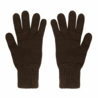 China men 3 ply knitted  pure cashmere gloves on sale