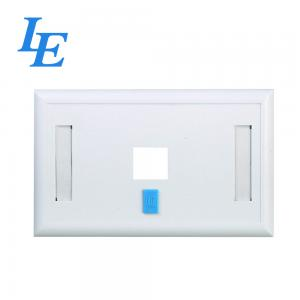China F041 Cable Internet Wall Socket , Flush - Mount Network Cable Faceplate on sale