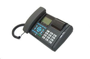 China Telephone POS Terminal With Integrated Handset, IC Card Reader on sale