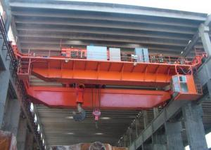 China Workstation EOT Double Girder Overhead Crane With Hook 5 ~450 Ton ISO CE on sale