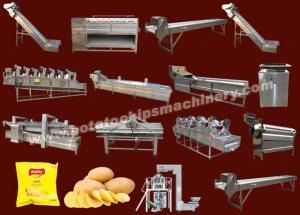 China Automatic Potato Chips Plant on sale