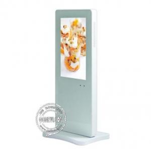 China Indoor 10.1 Inch Floor Standing Digital Signage Connect U Disk To Display Advertising on sale