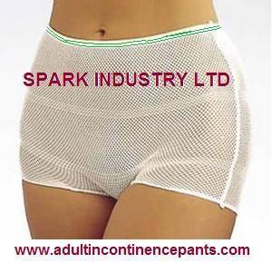 China Stretchable And Breathable Disposable Adult Incontinence Products Pants For Women And Men on sale