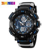 SKMEI waterproof cold light sport watches digital plastic big hand watches