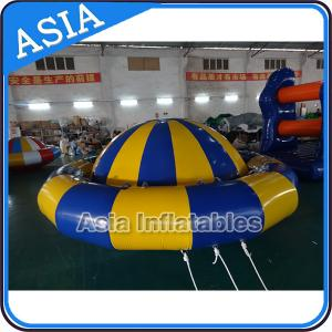 China Giant Water Floating Inflatable Saturn Rocker / Inflatable Water Disco Boat on sale