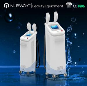 China SHR IPL Elight Acne Scar Removal Machine/ Home Permanent Hair Removal on sale