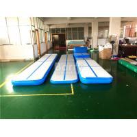 Customized Blue Inflatable Air Track Gymnastics Mat 3M 5M 6M 8M 10M 12M