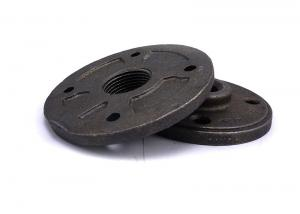 China Home Decoration Industrial Malleable Iron Flange For DIY Decor Furniture on sale