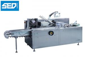 China Siemens Controlling System Automatic Cartoning Machine Toothpaste Tubes Packing Use on sale