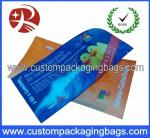 Free Design Heat Seal Custom Packaging Bags , Custom Logo Bags