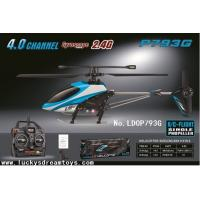 Hot In door 4CH R/C Single Propeller Helicopter 2.4G with Gyro,alloy Rc heli,RC toys