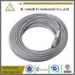 DIN3055 7x7 2m m galvanizó el cable de alambre de acero